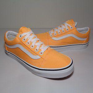 Vans Size 7 M OLD SKOOL Orange New Womens Sneakers